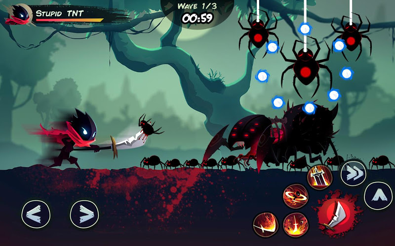Shadow Stickman: Fight for Justice (MOD, Coins/Diamonds)