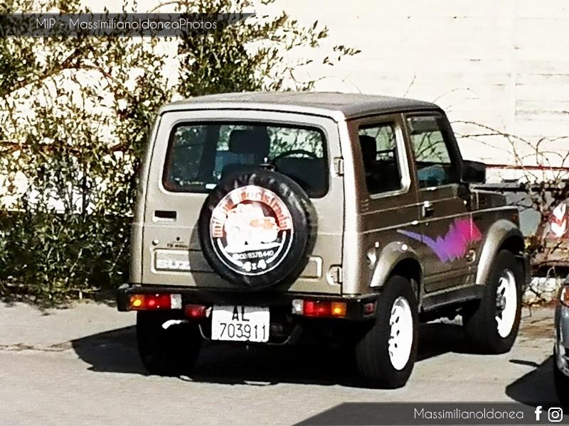 avvistamenti auto storiche - Pagina 12 Suzuki-Samurai-1-3-64cv-92-AL703911-25-701-15-9-2017