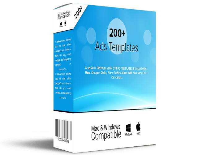 WHITELABEL LICENSE to 200+ Ads Templates