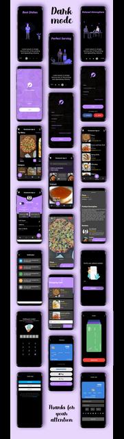 Modern Flutter Restaurant UI Kit Download