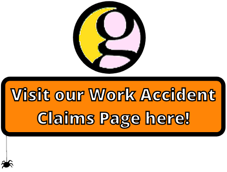 work accident claims button