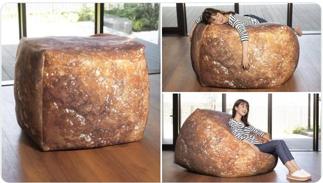 """嘗試做出了一個杯麵裡""""謎之肉""""風格的懶人沙發 Image"""