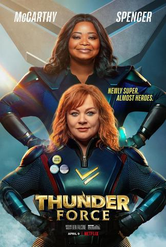 Thunder Force (2021) Dual Audio Hindi 480p HDRip x264 AAC 300MB ESub