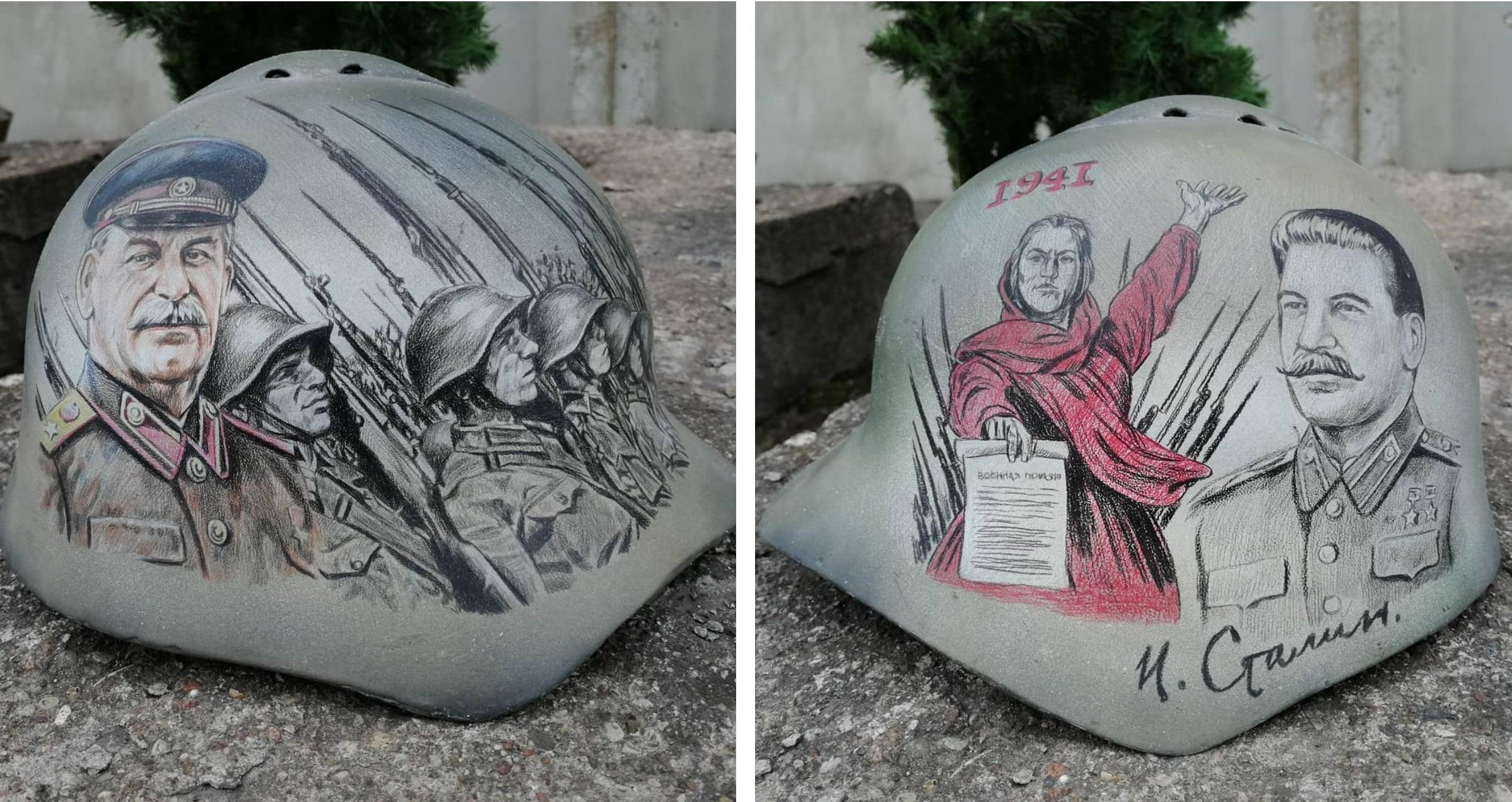 Soviet helmet SSh-36