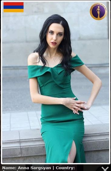 candidatas a miss cosmopolitan world 2019. final: 25 oct. Miss-armenia