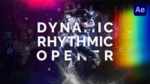 Dynamic Rhythmic Opener 29968702 - Project for After Effects (Videohive)