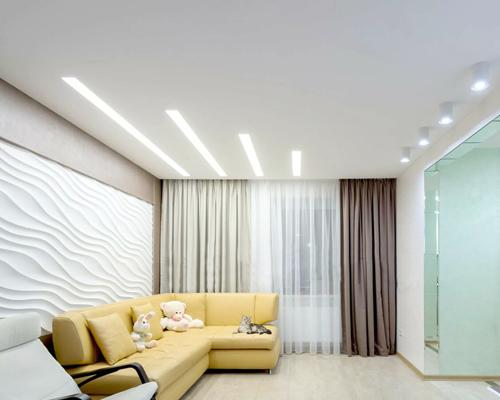 Дизайн натяжных потолков в интерьере