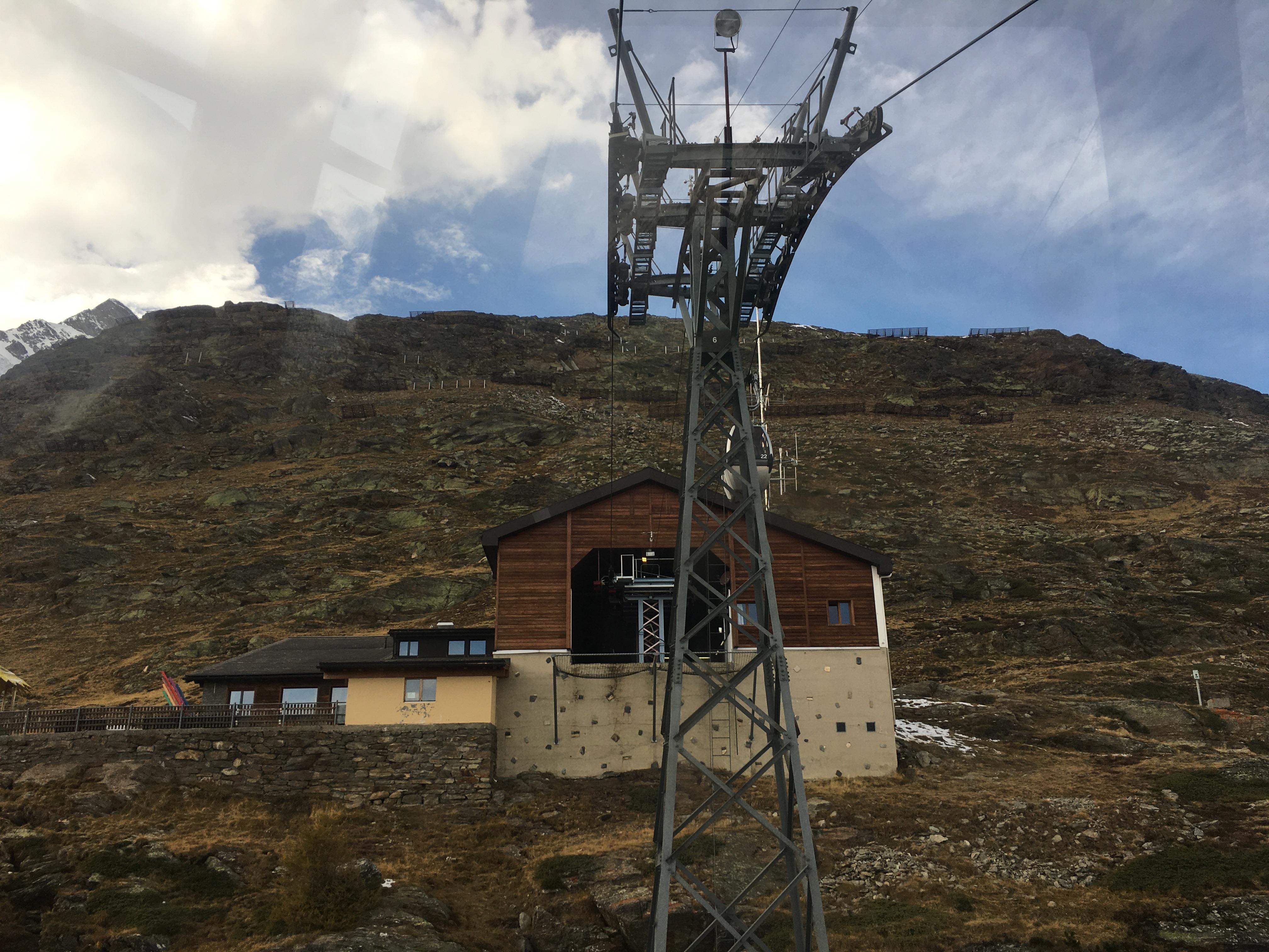 Télécabine débrayable 4 places (TCD4) Saas-Fee - Hannig IMG-3629