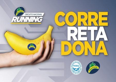 El Circuito Nacional de Running Plátano de Canarias lanza el reto #CorreRetaDona