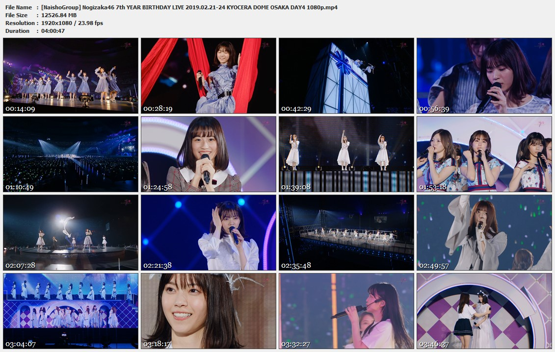 Naisho-Group-Nogizaka46-7th-YEAR-BIRTHDAY-LIVE-2019-02-21-24-KYOCERA-DOME-OSAKA-DAY4-1080p-mp4