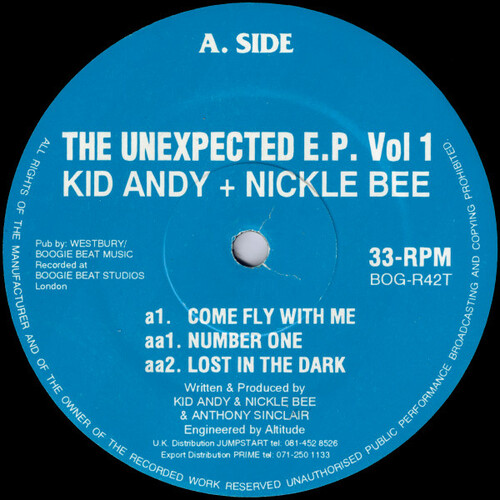 Kid Andy + Nickle Bee - The Unexpected E.P. Vol 1