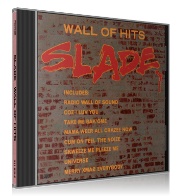 (Hard, Glam Rock) Slade - Wall Of Hits (Compilation) - 1991 [FLAC, image +.cue, lossless]