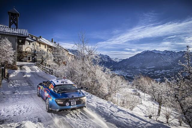Alpine réussit son retour au Monte-Carlo 2021-Rallye-de-Monte-Carlo-1