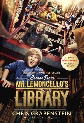 მისტერ ლიმონჩელოს ბიბლიოთეკიდან გაქცევა ESCAPE FROM MR. LEMONCELLO'S LIBRARY