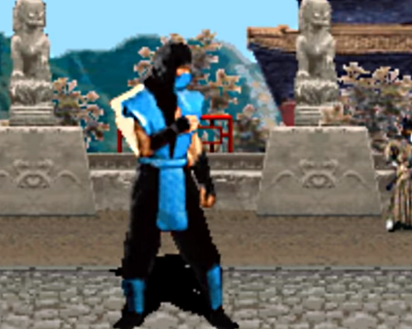 Sub-Zero (1992 Ver.) | Mortal Kombat | Minecraft Skin
