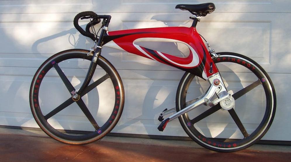 NuBike, la bici con pedali di trazione al posto della catena.