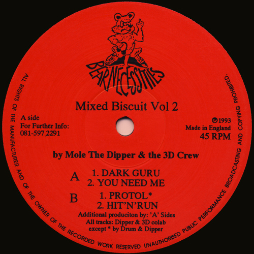 Mole The Dipper & The 3D Crew - Mixed Biscuit Vol. 2 1993