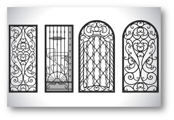 Imperial Touch of Window Grills Designs - SSID