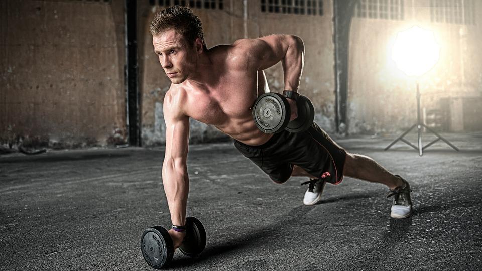 Fitness lifestyle propaganda
