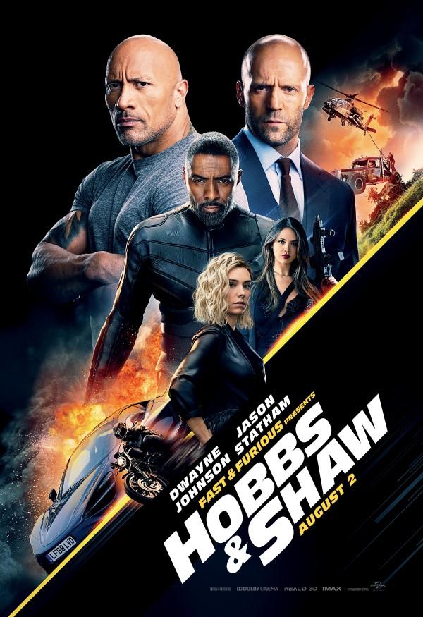 Hızlı ve Öfkeli : Hobbs ve Shaw 2019 TR 1080p ExR