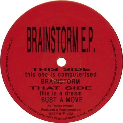 Bizzy B - Brainstorm E.P. 1992
