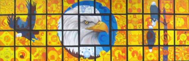 El Dorado Eagle Mural