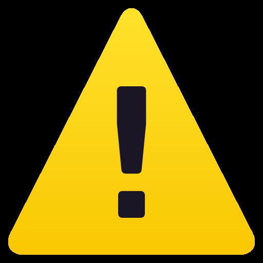 :warning: