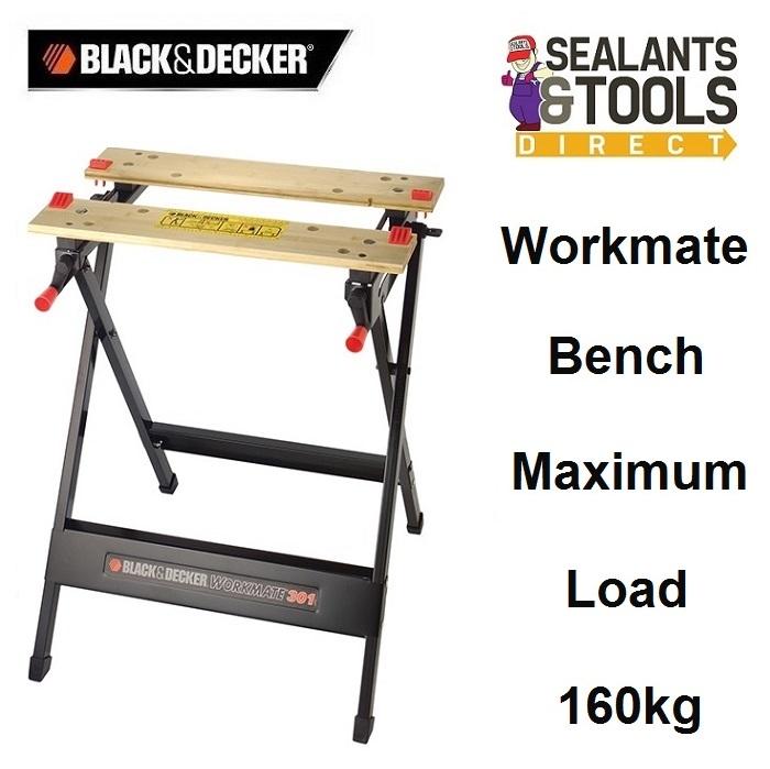 Black & Decker Workmate Bench 160Kg WM301-XJ