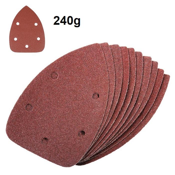 Silverline-Sand-Paper-Detail-Sander-Sheets-140mm-240g-240-Grit-196588