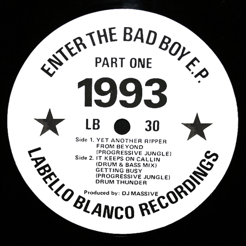 DJ Massive - Enter The Bad Boy E.P. Part One 1993