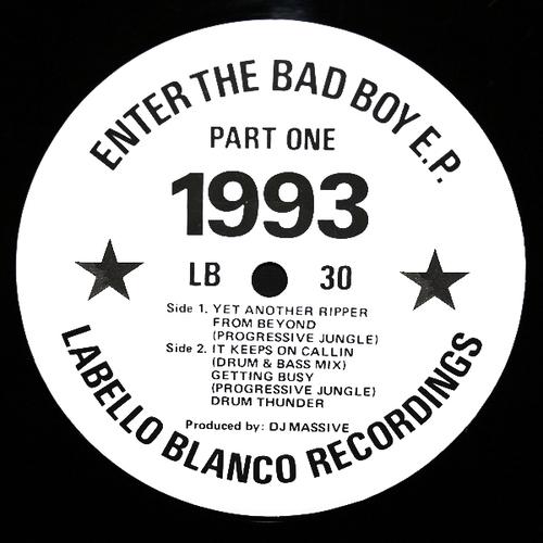 DJ Massive - Enter The Bad Boy E.P. Part One 1993