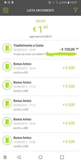 Bill SisalPay Bill (App italiana di SisalPay) €5,00 subito + €5,00 se invitato + €5,00 ogni invito [scadenza 30/09/2020] - Pagina 3 2019-08-23-5b-r