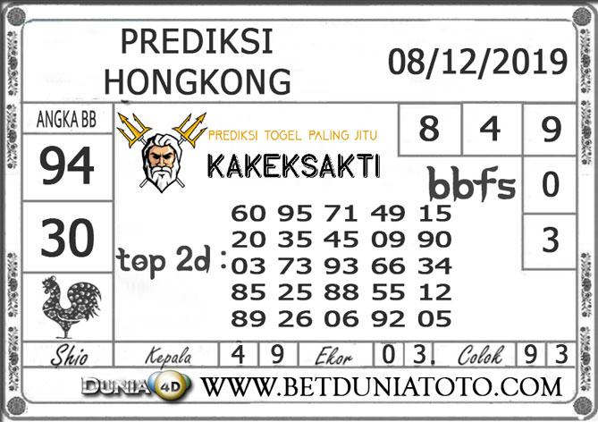 Prediksi Togel HONGKONG DUNIA4D 08 DESEMBER 2019