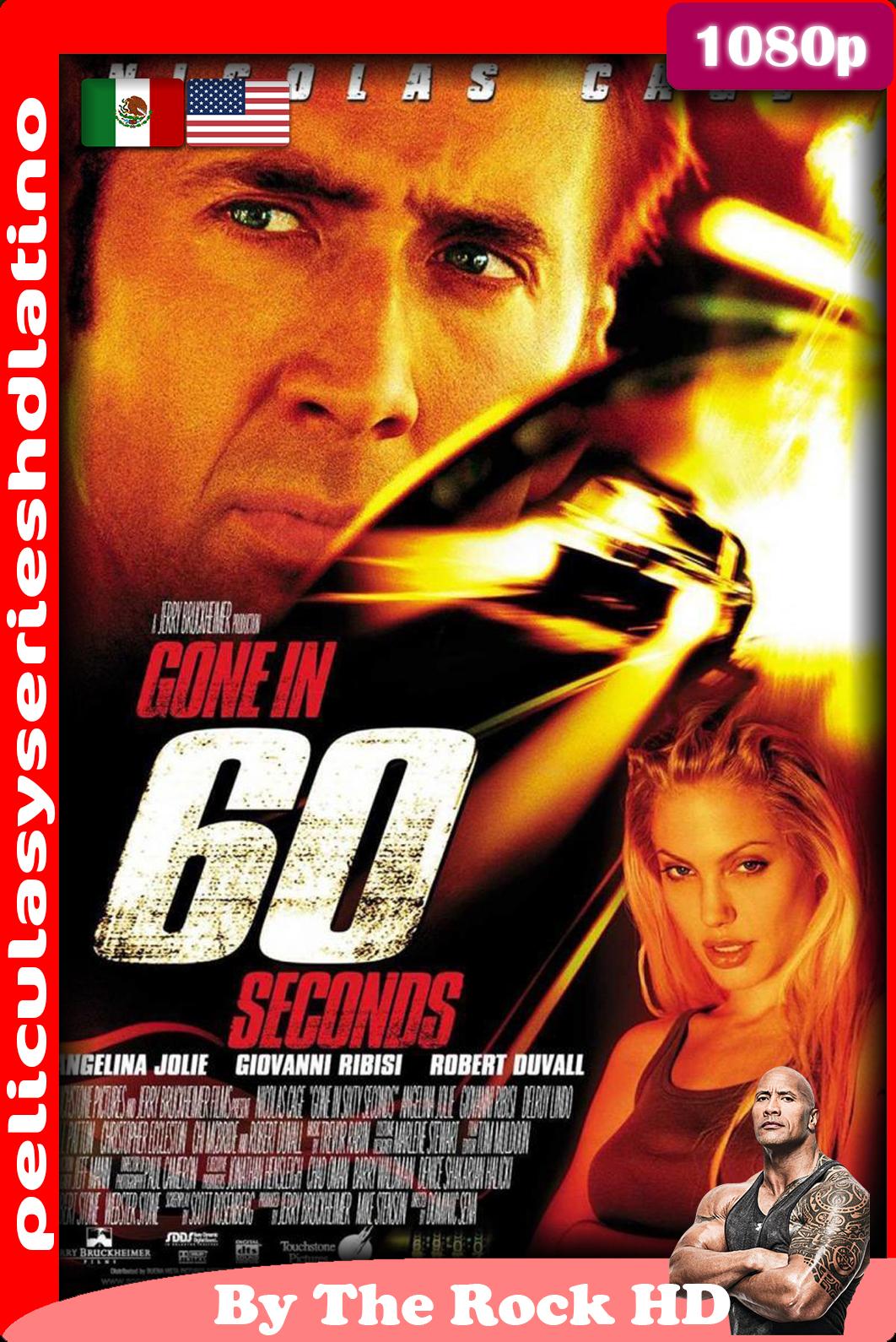 60 Segundos, (2000)[1080p] [Dual Latino] [Google Drive]