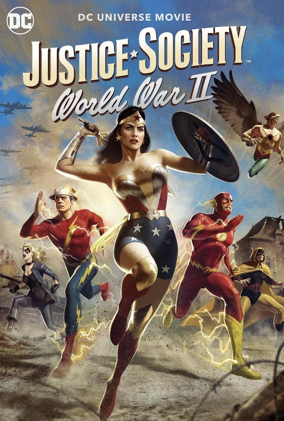 Justice Society World War II (2021) English 720p WEB-DL x264 AAC 750MB Download