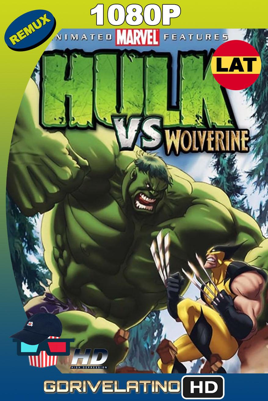 Hulk vs. Wolverine (2009) BDRemux 1080p Latino-Inglés MKV
