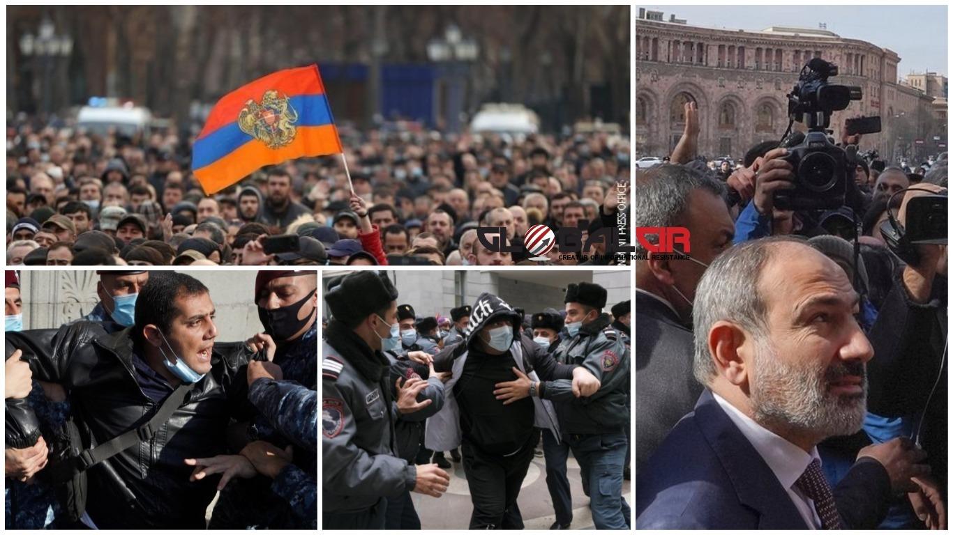 NE SMIRUJU SE PROTESTI U JERMENIJI: Predsjednik odbio razriješiti načelnika generalštaba koji je zatražio smjenu premijera!