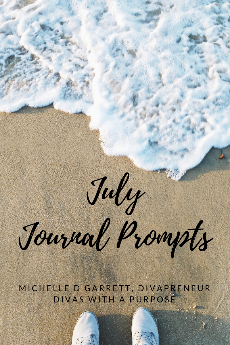 July Journal Prompts to use for family and business