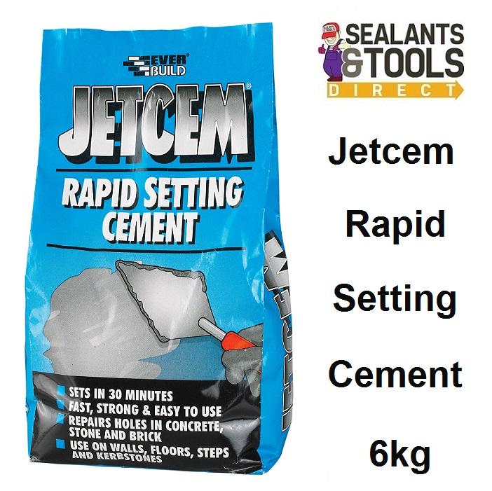 Everbuild JetCem Rapid Setting Cement 6kg JETCEM6