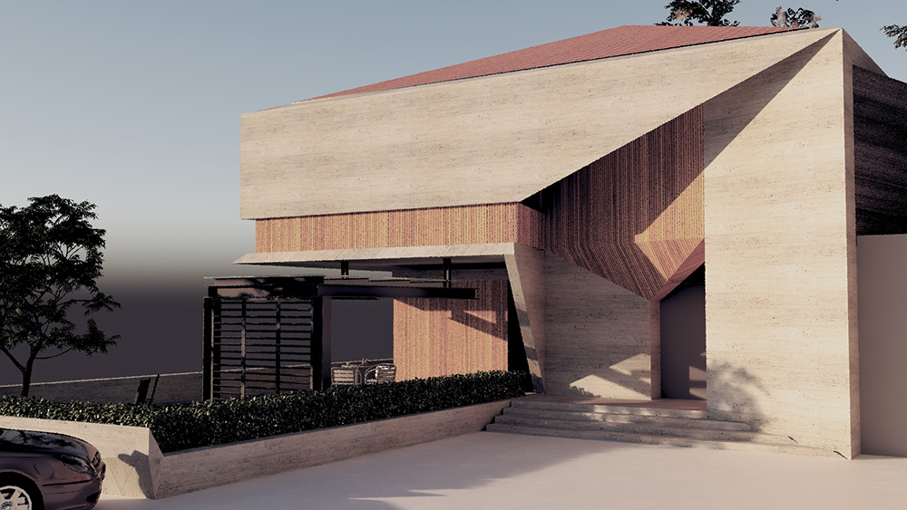 Rock House Architecture Project