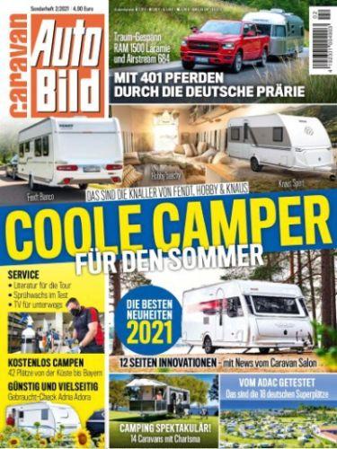 Cover: Auto Bild Caravan Magazin Sonderheft No 02 2021