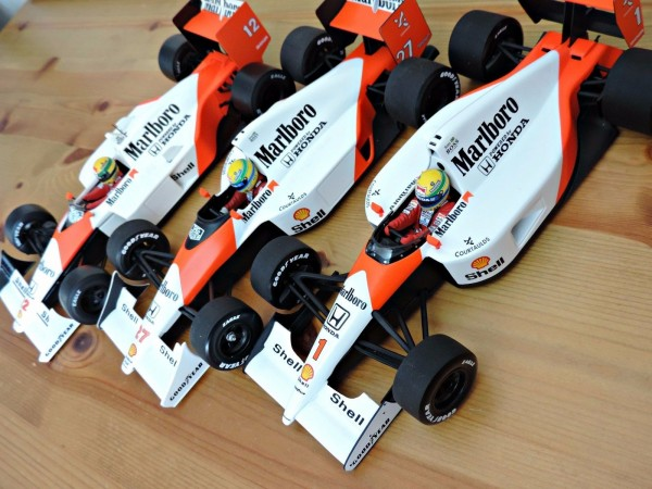 Senna World Champion Cars 1988,90,91 2