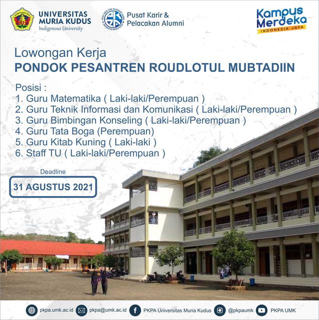 Lowongan-Pondok-Pesantren-2021-new