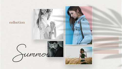 Summer Fashion Collection Promo B96 33158957 - Project for After Effects (Videohive)