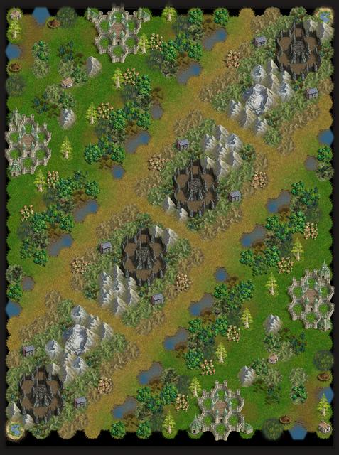 4p A mountain belt