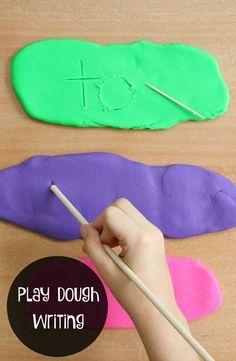Play-Dough-Writing-Tray