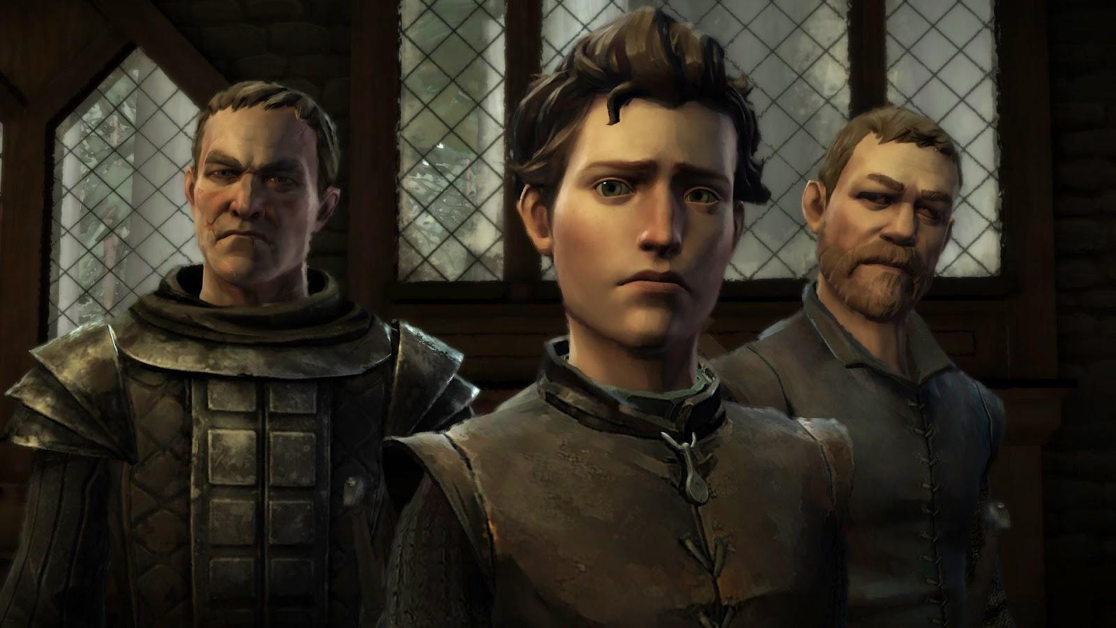 Escena del videojuego Juego de Tronos de Telltale Games