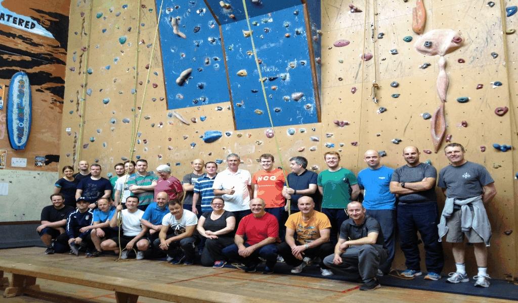 Climbing Gear Storage