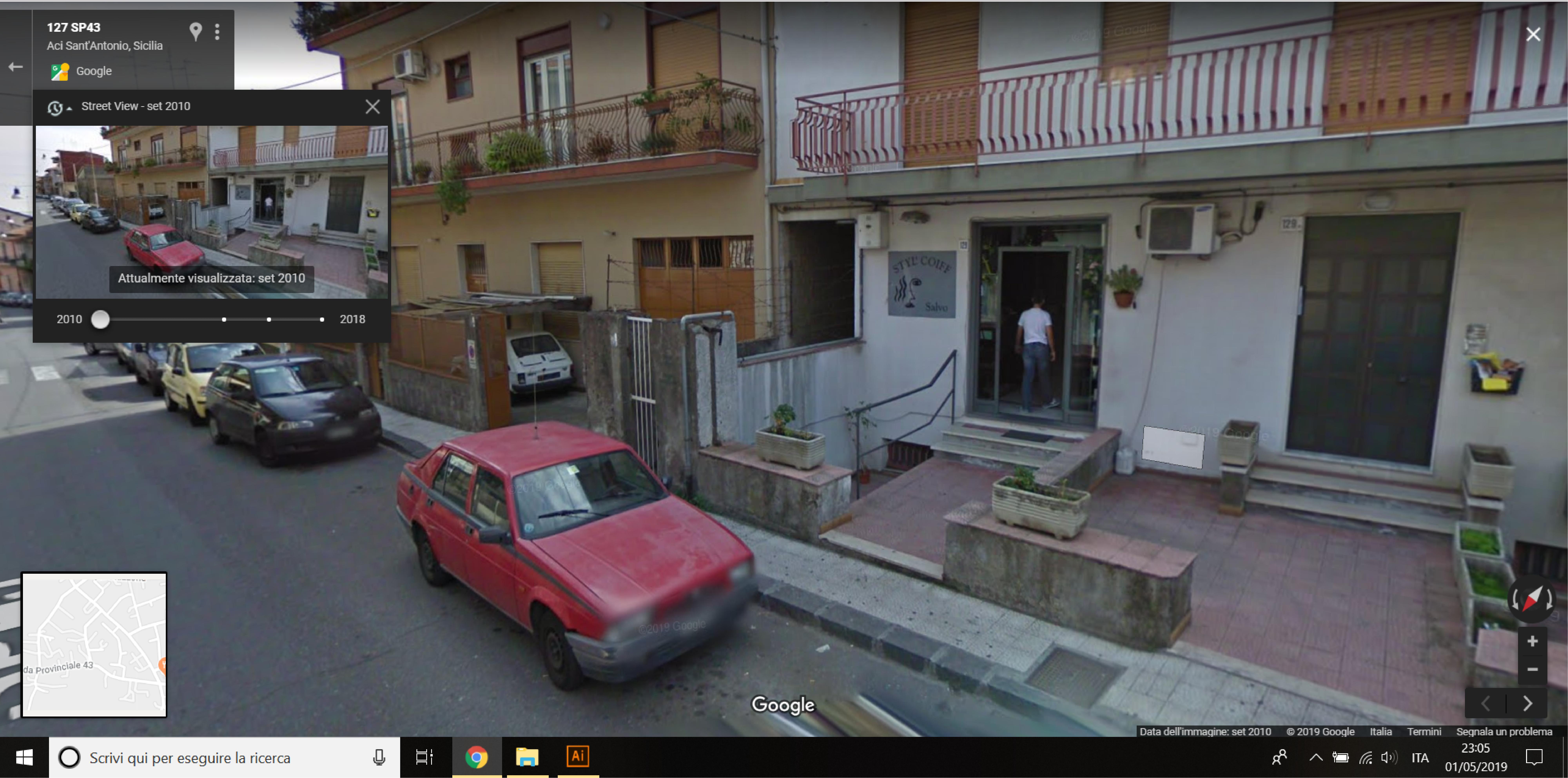 Auto  storiche da Google Maps - Pagina 10 Aci-Sant-Antonio-SP43-01