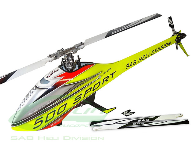 SG508 Goblin 500 Sport Yellow Red